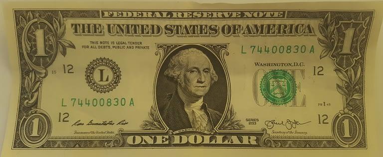 one dollar :)